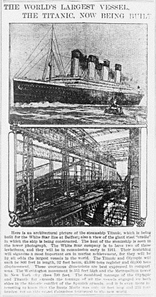 1910 Titanic being built edited