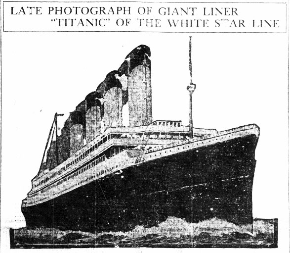 Titanic Photo Edited