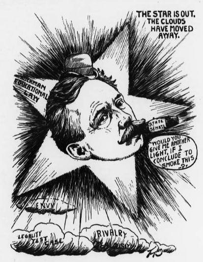 Buckman Political Cartoon Jacksonville Sun