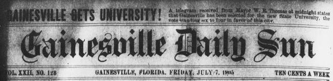 Gainesville Gets University