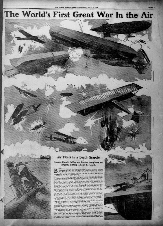 The world's first great war in the air