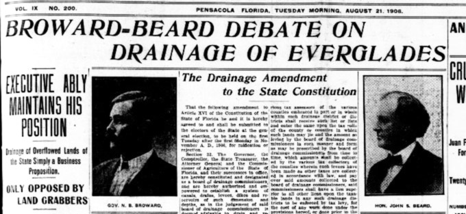 Broward-Beard Debate